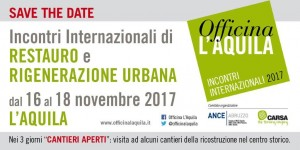 Officina L'Aquila - save the date