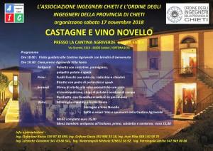 Castagne e Vino Novello Locandina